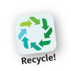 logo recycle app